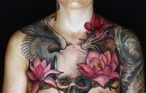 Lotus Flower Tattoo 14