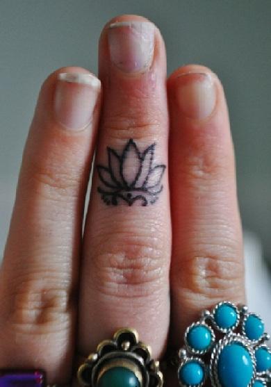 Lotus Flower Tattoo 13