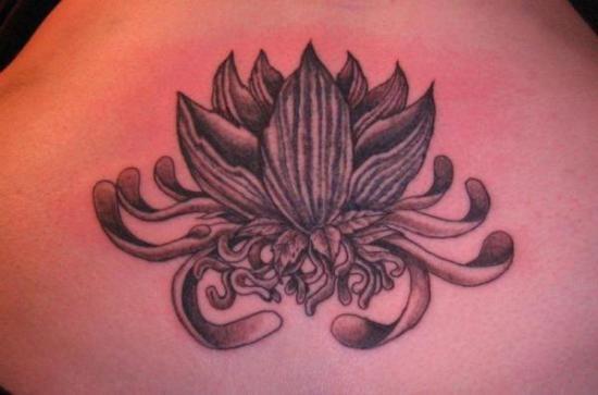Lotus flower tattoo 2