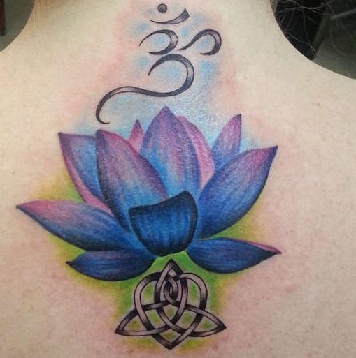 Lotus Flower Tattoo 9