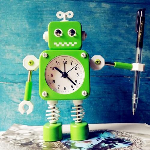 Robot Loud Alarm Clock