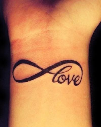 love tattoos on wrist