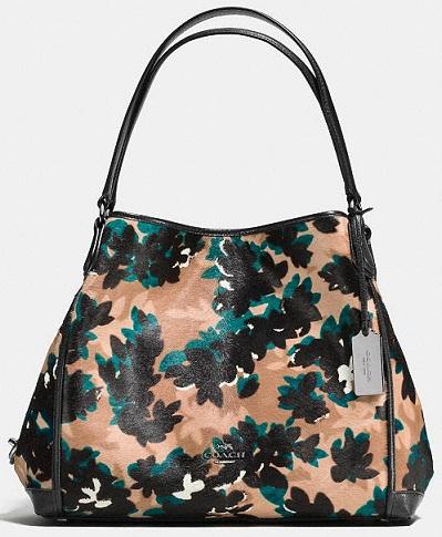 Leaf Print Coach Bags