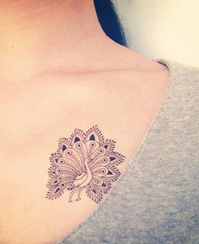 Peacock Tattoo Designs 3