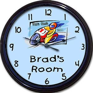 Personalized Bedroom Clock