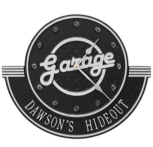 Personalized Garage Clock