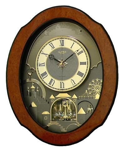 Rhythm Musical Clocks