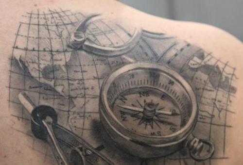 Traveler Tattoos for Men