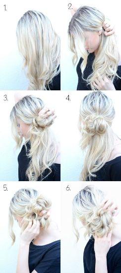 side bun hairstyle1