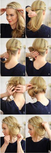 side bun hairstyle8