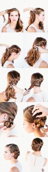 side bun hairstyle9