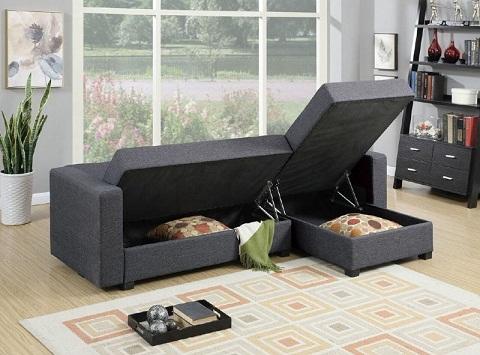 Furniture with storage