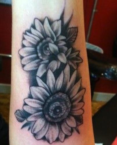 top-9-sunflower-tattoo-designs10