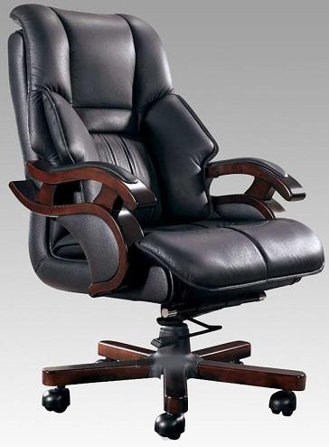 Cushioned Arm Computer Chair