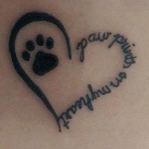Pet Memorial Tattoo Designs