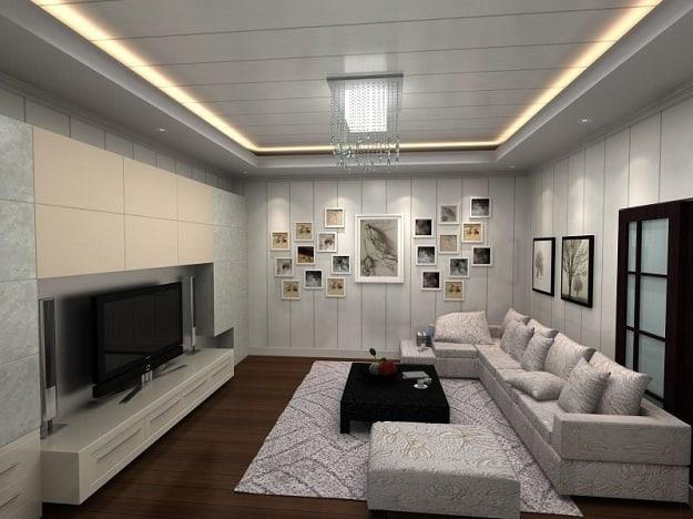 PVC Ceilings For Living Room