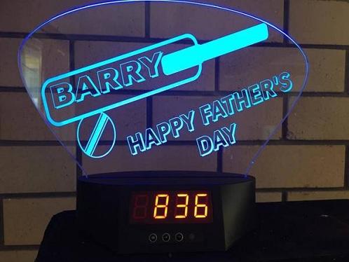 Personalized LED Clocks