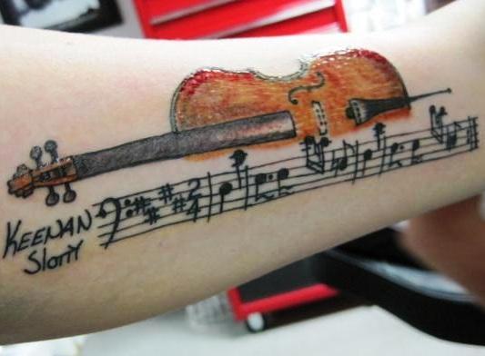 musical-tattoo