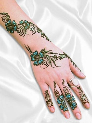 Colorful gujarati design