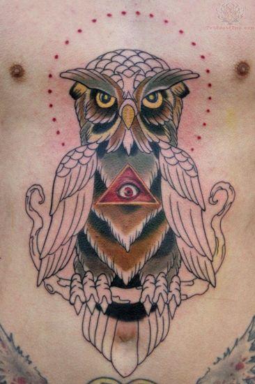 owl tattoo designs 1