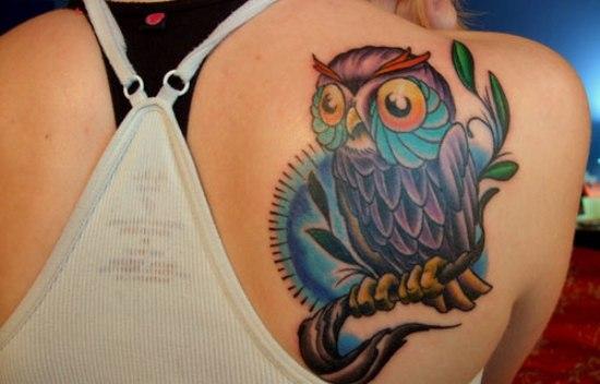owl tattoo designs 6