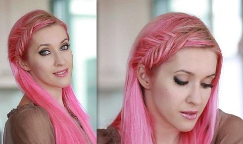 French Braid Hairstyles10