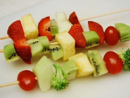 Fruit Skewers Craft