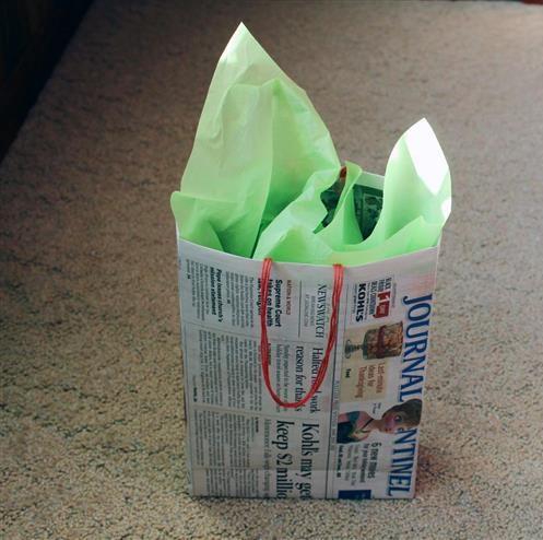 Handmade Newspaper Crafts