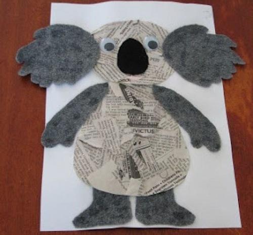 Cute Newspaper Crafts for Kids