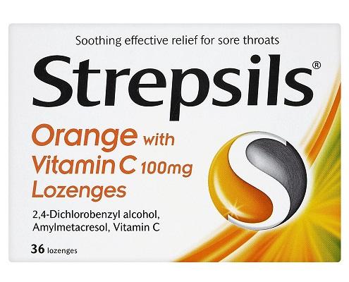Strepsils-Lozenges