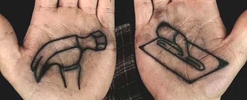 Tools Palm Tattoo