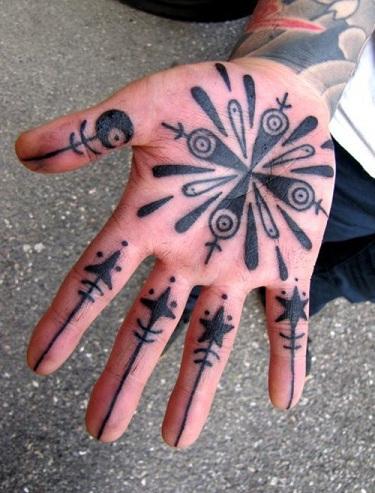 Full Palm Tattoo