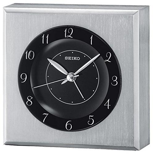 Glass Case Skeleton Movement Clock