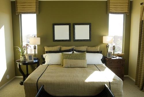 Symmetrical Couple Bedroom