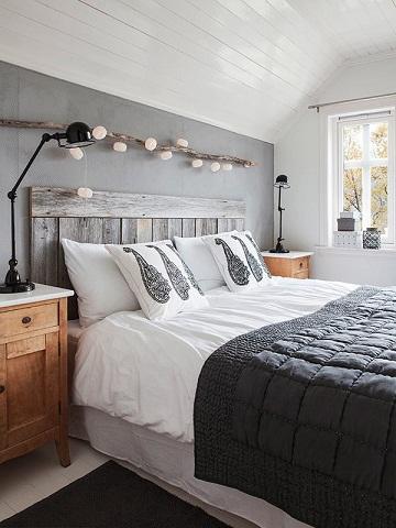Monochrome Designed couple Bedroom