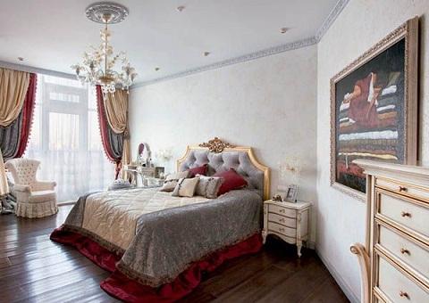 Venetian Inspired couple Bedroom