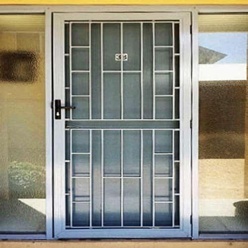 Aluminium Safety Doors