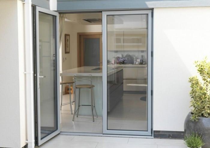 Aluminium Double Open Door