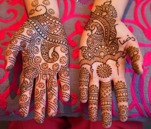 Different Styles Asha Savla Mehndi Design