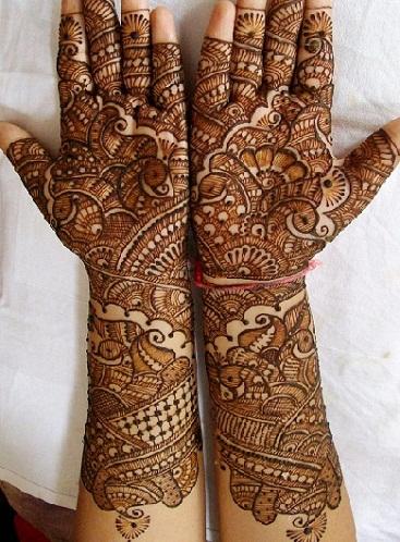 Rich Floral Designer Mehandi