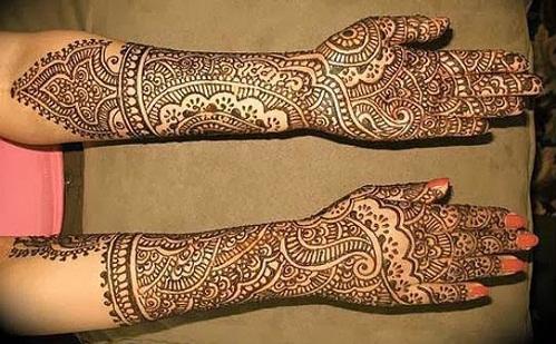 Rajasthani Designer Mehandi