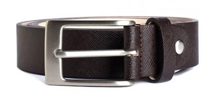Minute Plaid Formal Belt