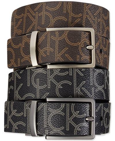 Flat Leather Formal Belt