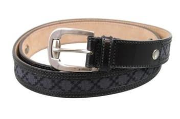 'X' print Men's Belt Design