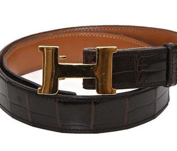 Crocodile Belt for Men