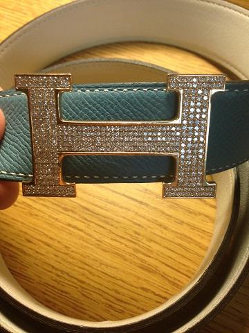 Diamond Buckle Women Belt