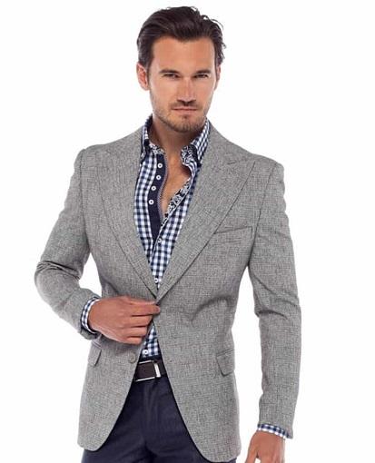 Grey Sports Blazer