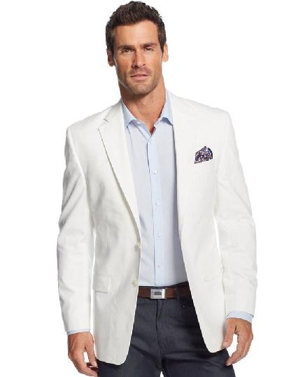 White Sports Blazer