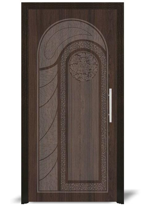 Flush Door Designs With Sun Mica