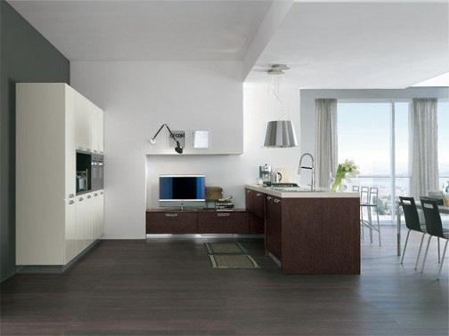 Classy Italian kitchen design